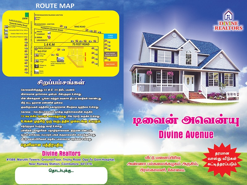 Divineproperties | Flats for sales in coimbatore
